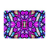 "Art Love Passion ""Kaleidoscope Dream"" Pink Purple Memory Foam Bath Mat - KESS InHouse"