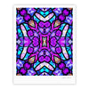"Art Love Passion ""Kaleidoscope Dream"" Pink Purple Fine Art Gallery Print - KESS InHouse"