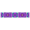 "Art Love Passion ""Kaleidoscope Dream Continued"" Purple Pink Table Runner - KESS InHouse  - 1"
