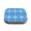 "Art Love Passion ""Blue Diamonds"" Blue Aqua Coasters (Set of 4)"