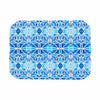 "Art Love Passion ""Blue Diamonds"" Blue Aqua Place Mat - KESS InHouse"