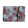 "Art Love Passion ""Cherry Blossom Day"" Floral Illustration Memory Foam Bath Mat - KESS InHouse"