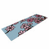 "Art Love Passion ""Cherry Blossom Day"" Floral Illustration Yoga Mat - KESS InHouse  - 1"