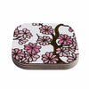 "Art Love Passion ""Cherry Blossoms"" White Pink Coasters (Set of 4)"