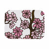 "Art Love Passion ""Cherry Blossoms"" White Pink Place Mat - KESS InHouse"