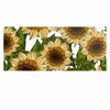 "Art Love Passion ""Sunflower Field"" Beige Yellow Luxe Rectangle Panel - KESS InHouse  - 1"