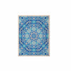 "Art Love Passion ""Star Snowflake"" Blue Aqua KESS Naturals Canvas (Frame not Included) - KESS InHouse"