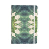 "Art Love Passion ""Forest Leaves"" Green Teal Celtic AbstractEverything Notebook - KESS InHouse  - 1"