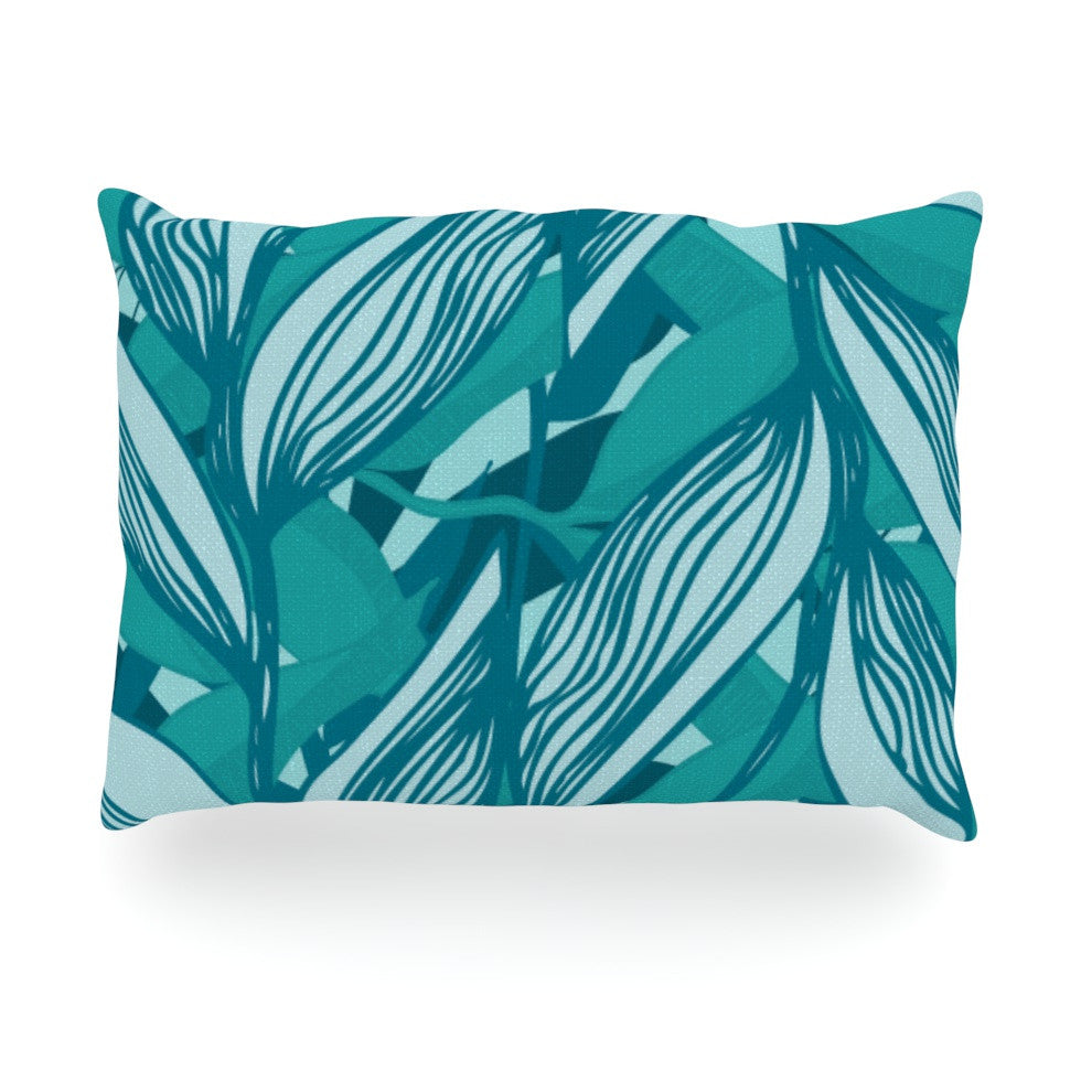 "Anchobee ""Algae"" Oblong Pillow - KESS InHouse"