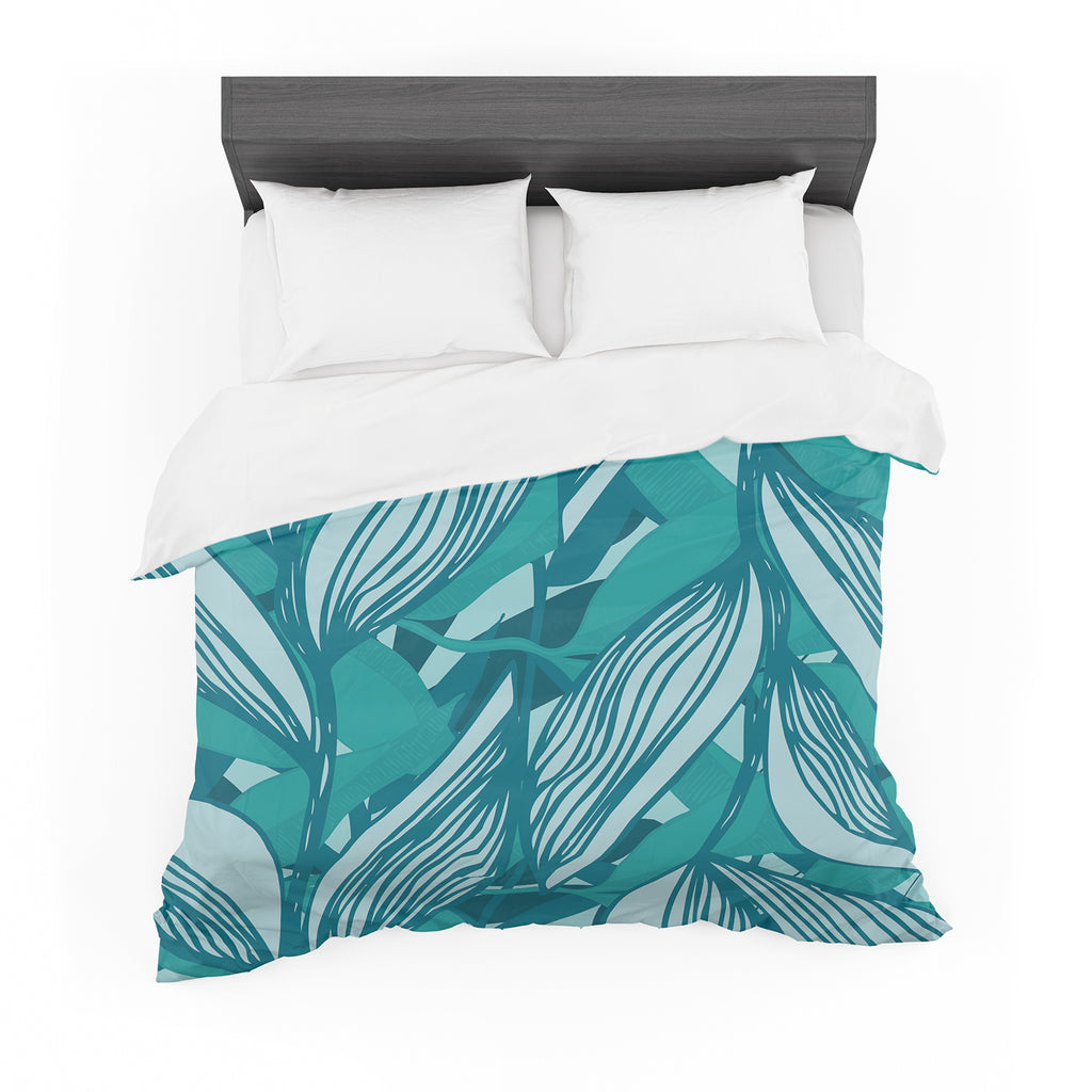 "Anchobee ""Algae"" Featherweight Duvet Cover"