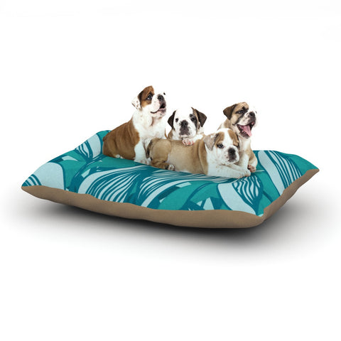 "Anchobee ""Algae"" Dog Bed - KESS InHouse  - 1"