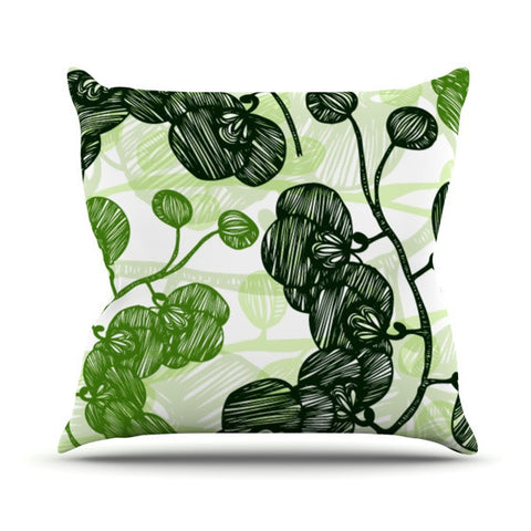 "Anchobee ""Hikae"" Outdoor Throw Pillow - KESS InHouse  - 1"