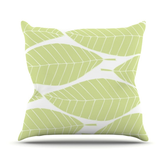 "Anchobee ""Hojitas"" Throw Pillow - KESS InHouse  - 1"