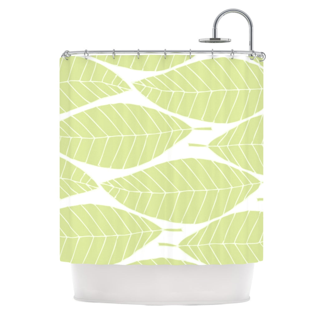 "Anchobee ""Hojitas"" Shower Curtain - KESS InHouse"