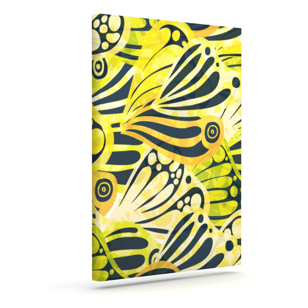 "Anchobee ""Papalote"" Outdoor Canvas Wall Art - KESS InHouse  - 1"