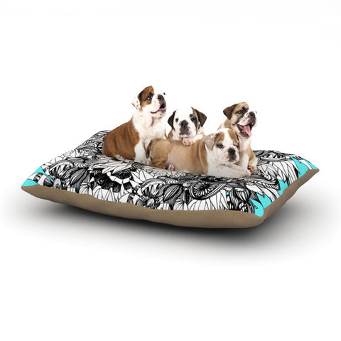 "Anchobee ""Blumen"" Dog Bed - KESS InHouse  - 1"