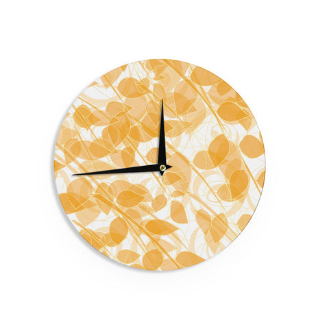 "Anchobee ""Summer"" Wall Clock - KESS InHouse"
