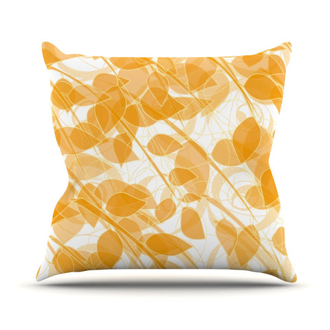 "Anchobee ""Summer"" Throw Pillow - KESS InHouse  - 1"