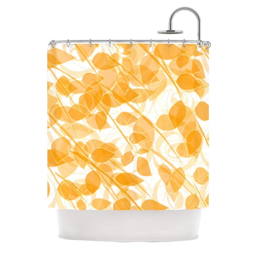 "Anchobee ""Summer"" Shower Curtain - KESS InHouse"