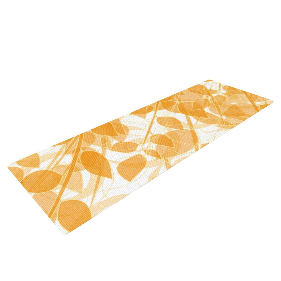 "Anchobee ""Summer"" Yoga Mat - KESS InHouse  - 1"