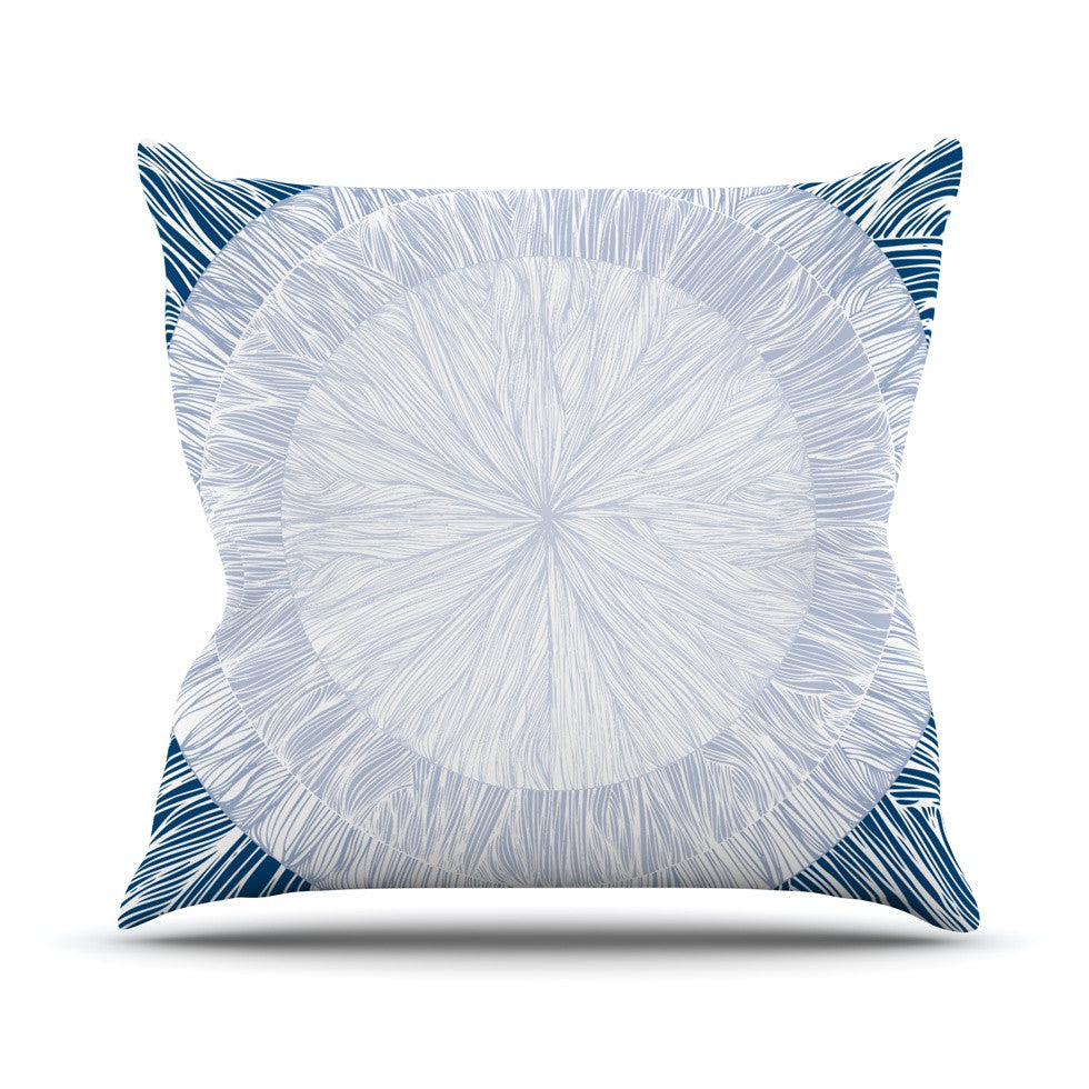 "Anchobee ""Pulp"" Throw Pillow - KESS InHouse  - 1"