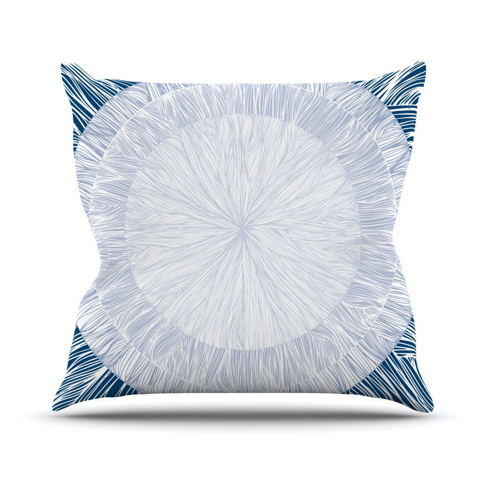 "Anchobee ""Pulp"" Outdoor Throw Pillow - KESS InHouse  - 1"
