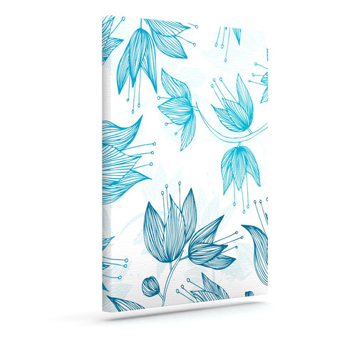 "Anchobee ""Biru Dream"" Outdoor Canvas Wall Art - KESS InHouse  - 1"