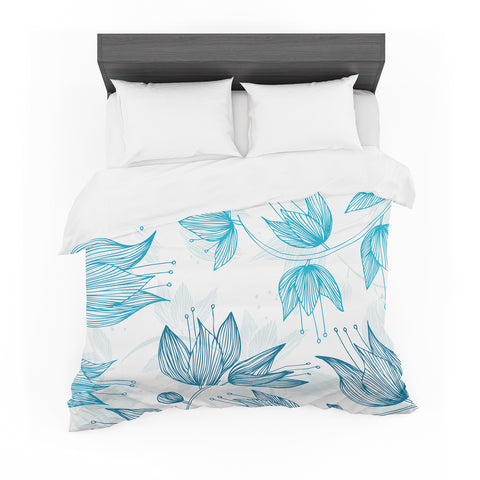 "Anchobee ""Biru Dream"" Featherweight Duvet Cover"