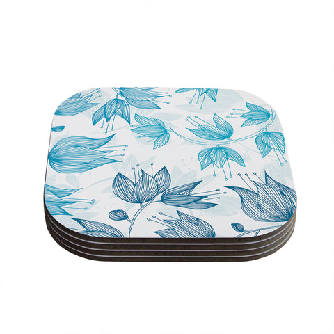 "Anchobee ""Biru Dream"" Coasters (Set of 4)"
