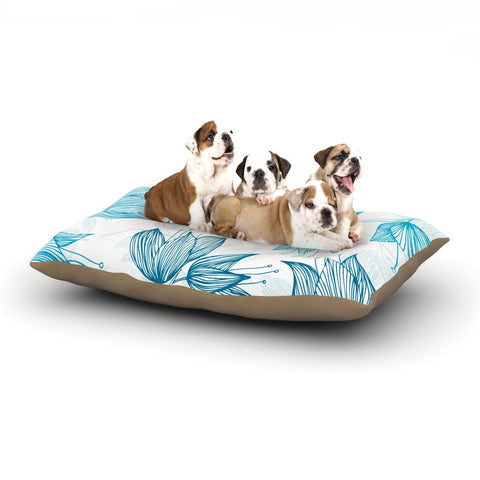 "Anchobee ""Biru Dream"" Dog Bed - KESS InHouse  - 1"