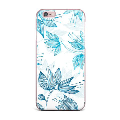 "Anchobee ""Biru Dream"" iPhone Case - KESS InHouse"