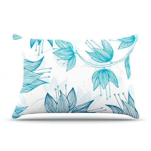 "Anchobee ""Biru Dream"" Pillow Sham - KESS InHouse  - 1"