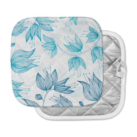 "Anchobee ""Biru Dream"" Pot Holder"