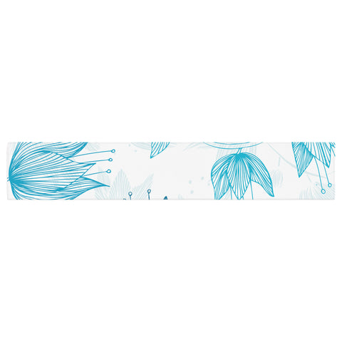 "Anchobee ""Biru Dream"" Table Runner - KESS InHouse  - 1"