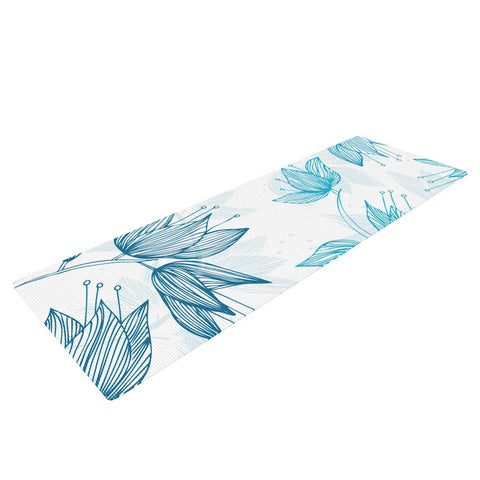"Anchobee ""Biru Dream"" Yoga Mat - KESS InHouse  - 1"