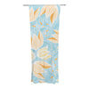 "Anchobee ""Giallo"" Decorative Sheer Curtain - KESS InHouse"