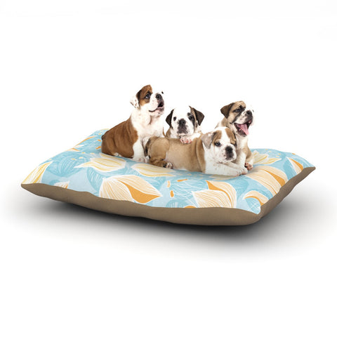 "Anchobee ""Giallo"" Dog Bed - KESS InHouse  - 1"