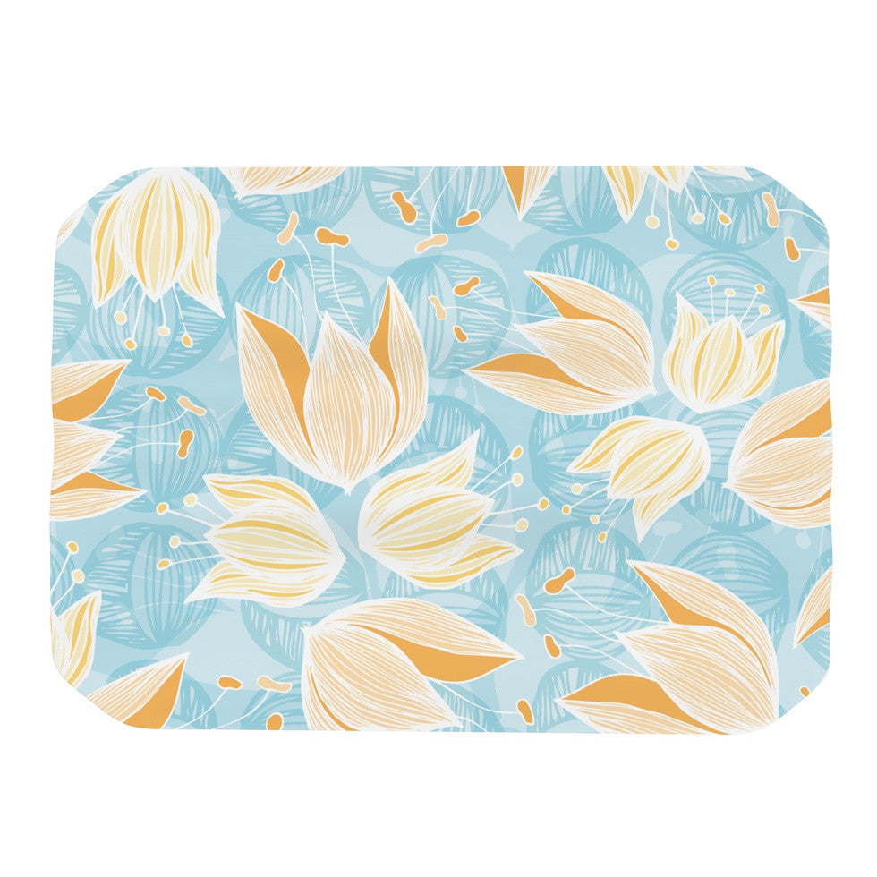 "Anchobee ""Giallo"" Place Mat - KESS InHouse"