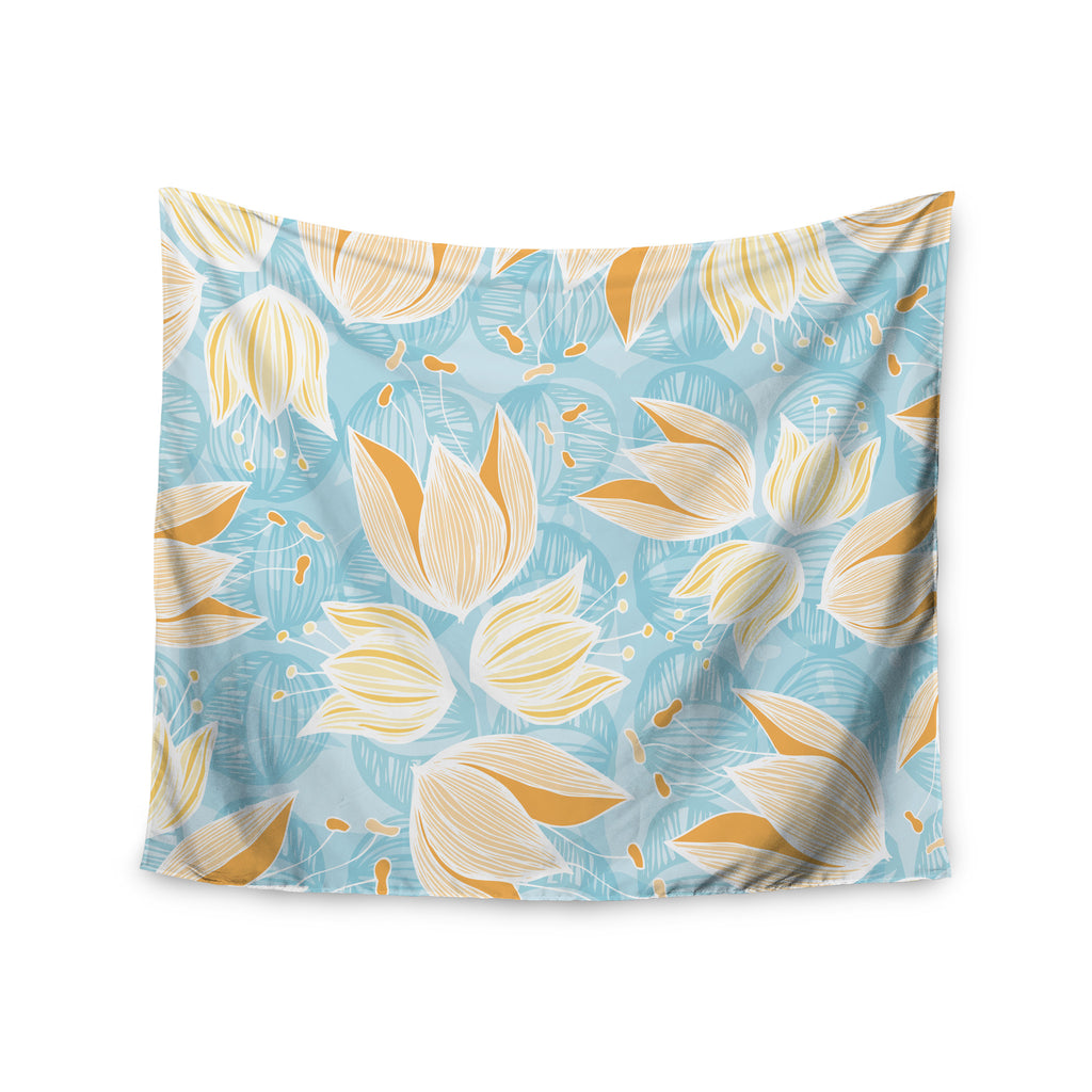 "Anchobee ""Giallo"" Wall Tapestry - KESS InHouse  - 1"