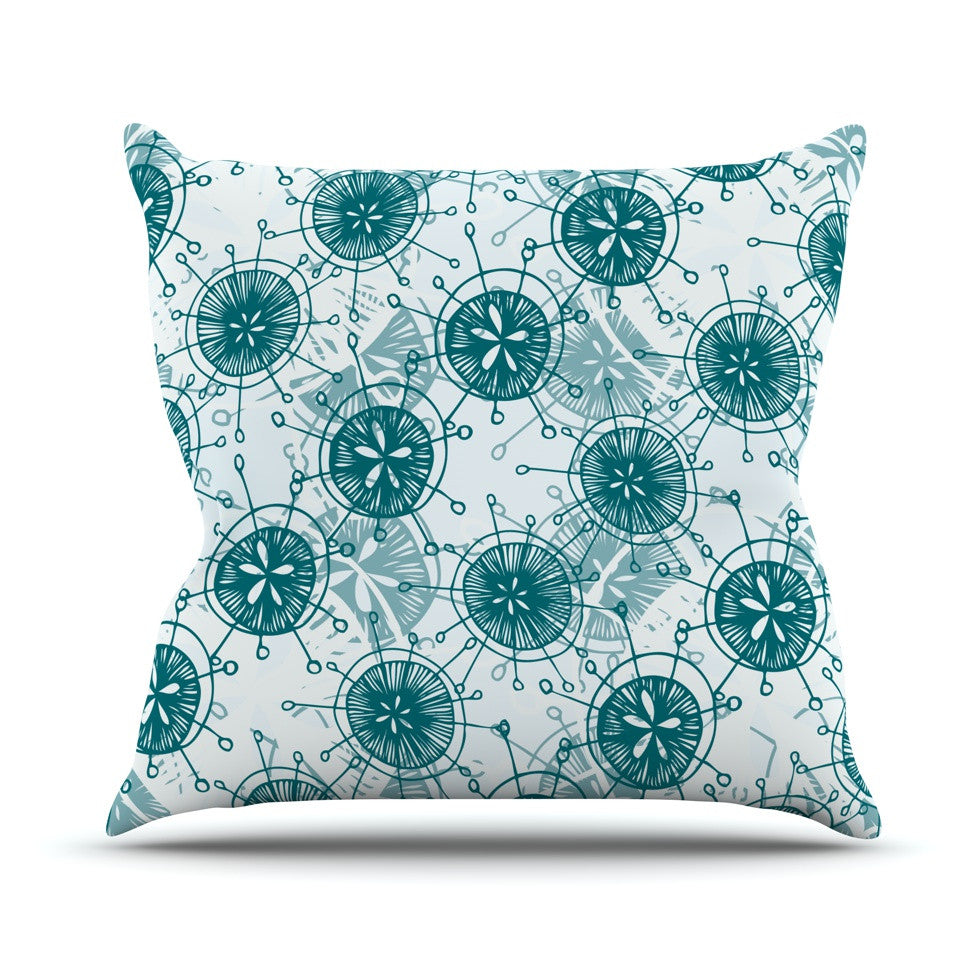 "Anchobee ""Satellite"" Throw Pillow - KESS InHouse  - 1"