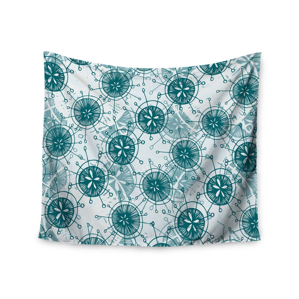 "Anchobee ""Satellite"" Wall Tapestry - KESS InHouse  - 1"