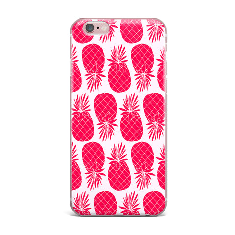"Anchobee ""Pinya Neon Pink"" Magenta Pattern iPhone Case - KESS InHouse"
