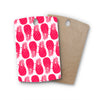 "Anchobee ""Pinya Neon Pink"" Magenta Pattern Rectangle Wooden Cutting Board"