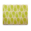 "Anchobee ""Pinya Lime"" Green Pattern Birchwood Wall Art - KESS InHouse  - 1"