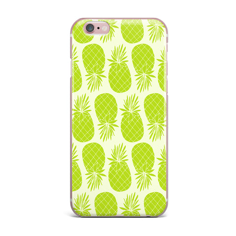 "Anchobee ""Pinya Lime"" Green Pattern iPhone Case - KESS InHouse"