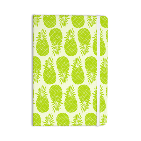 "Anchobee ""Pinya Lime"" Green Pattern Everything Notebook - KESS InHouse  - 1"