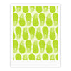 "Anchobee ""Pinya Lime"" Green Pattern Fine Art Gallery Print - KESS InHouse"