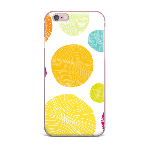 "Anchobee ""Eolo"" Multicolor Circles iPhone Case - KESS InHouse"