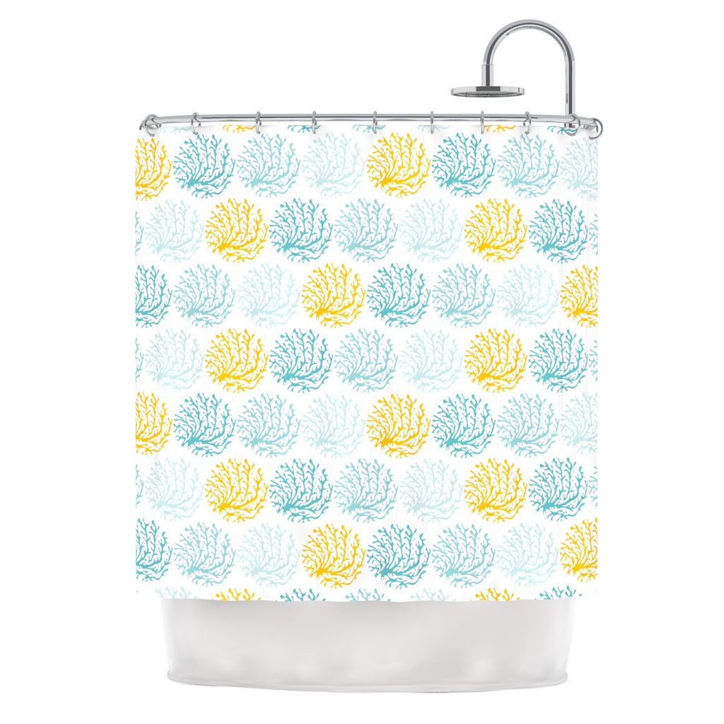 Coralina Shower Curtain By Anchobee