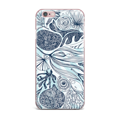 "Anchobee ""Marina"" Blue Aqua iPhone Case - KESS InHouse"